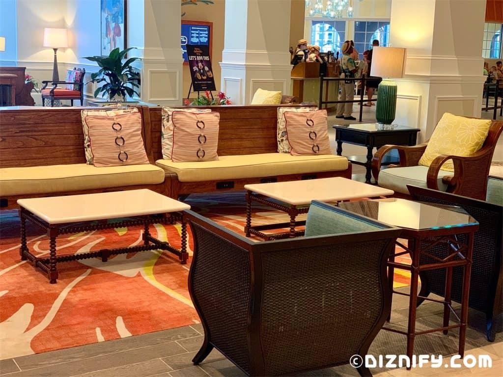 Disney Caribbean Beach Lobby Decor Ideas Diznify